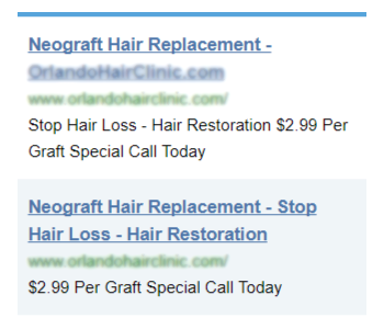 Orlando hair transplant scammers offer super cheap hair transplants, but those deals don't make for quality results.